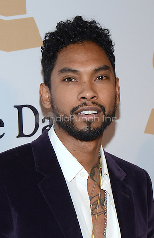 BEVERLY HILLS, CA -  FEBRUARY 7: Miguel arrives at the 2015 Pre-Grammy Gala & Grammy Salute to Industry Icons at the Beverly Hilton Hotel on February 7, 2015 in Beverly Hills, California. Credit: PGTW/MediaPunch