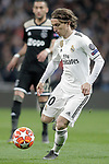 Real Madrid's Luka Modric during a UEFA Champions League match. Round of 16. Second leg. March, 5,2019. (ALTERPHOTOS/Alconada)