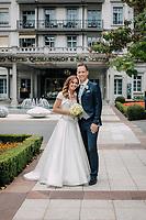 Martina Hingis & Harald Leemann wedding