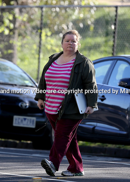 15 OCTOBER  2013 SYDNEY AUSTRALIA<br /> <br /> EXCLUSIVE PICTURES<br /> <br /> Magda Szubanski pictured enjoying a a hearty breakfast at her local cafe in Elwood. <br /> <br /> *No internet without clearance*.MUST CALL PRIOR TO USE +61 2 9211-1088. Matrix Media Group.Note: All editorial images subject to the following: For editorial use only. Additional clearance required for commercial, wireless, internet or promotional use.Images may not be altered or modified. Matrix Media Group makes no representations or warranties regarding names, trademarks or logos appearing in the images.