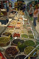 Italian delicatessen in Venice, Italy.