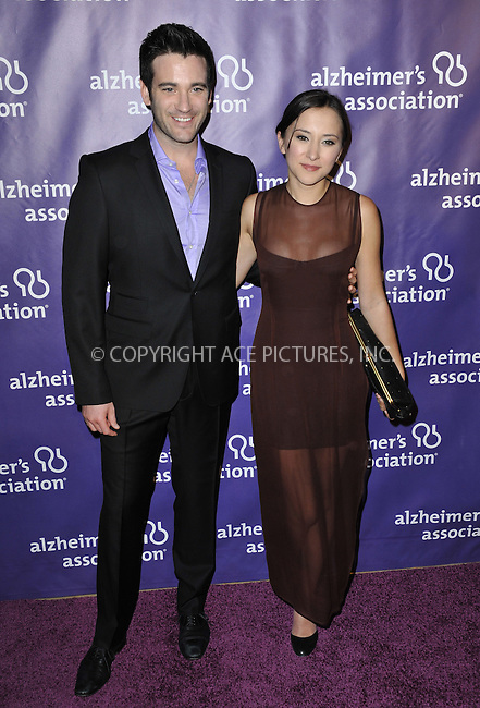 WWW.ACEPIXS.COM....March 20 2013, LA......Zelda Williams (R) arriving at the 21st Annual 'A Night At Sardi's' to benefit the Alzheimer's Association at The Beverly Hilton Hotel on March 20, 2013 in Beverly Hills, California.....By Line: Peter West/ACE Pictures......ACE Pictures, Inc...tel: 646 769 0430..Email: info@acepixs.com..www.acepixs.com