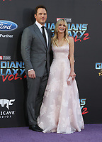 19 April 2017 - Hollywood, California - Chris Pratt, Anna Faris. Premiere Of Disney And Marvel's &quot;Guardians Of The Galaxy Vol. 2&quot; held at Dolby Theatre. <br /> CAP/ADM/PMA<br /> &copy;PMA/ADM/Capital Pictures