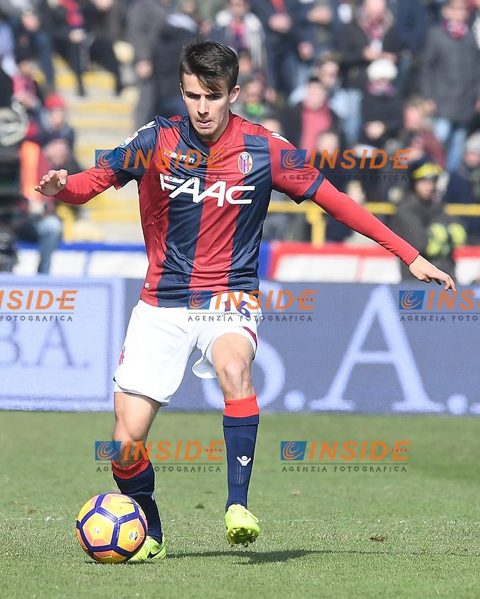 Adam Nagy <br /> Bologna 19-02-2017 Stadio Dall'Ara Football Calcio Serie A 2016/2017 Chievo Bologna - Inter. Foto Image Sport / Insidefoto