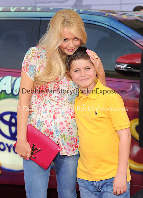 Charlotte Ross attends Disney's Muppets Most Wanted World Premiere held at The El Capitan Theatre in Hollywood, California on March 11,2014                                                                               © 2014 Hollywood Press Agency