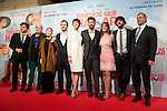 """Full cast of the movie attends to the premiere of the spanish film """"Tenemos que Hablar"""" in Madrid, February 25, 2016. (ALTERPHOTOS/BorjaB.Hojas)"""