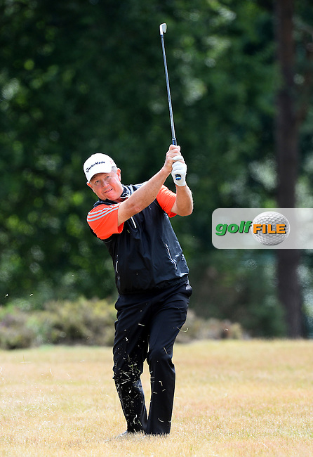Rob Spittle of Canada in action during the First Round of The Senior Open at Sunningdale Golf Club, Sunningdale, England. Picture: Golffile | Richard Martin-Roberts<br /> All photo usage must carry mandatory copyright credit (&copy; Golffile | Richard Martin- Roberts)