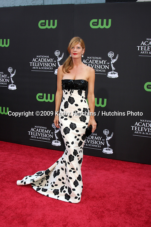 Michelle Stafford  arriving at the Daytime Emmys at the Orpheum Theater in  Los Angeles, CA on August 30, 2009.©2009 Kathy Hutchins / Hutchins Photo.