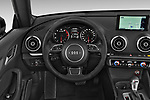 Car pictures of steering wheel view of a 2015 Audi A3 1.8 Premium Plus  2 Door Convertible