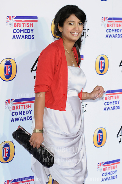 Konnie Huq arriving for the British Comedy Awards 2011 at Fountains Studios, Wembley, London. 19/12/2011 Picture by: Steve Vas / Featureflash