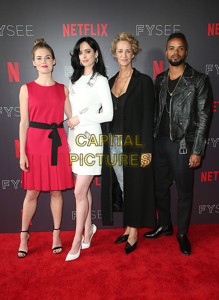 LOS ANGELES, CA - MAY 19: Rachel Taylor, Krysten Ritter, Janet McTeer, Eka Darville, at NETFLIX FYC Event for Marvel's Jessica Jones at NEFTLIX FYSEE at Raleigh Studios in Los Angeles, California on May 19, 2018.  <br /> CAP/MPIFS<br /> &copy;MPIFS/Capital Pictures