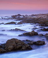 Pt. Joe along the coast of Pebble Beach, California.