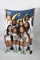 BERKELEY, CA - August, 7, 2016: Abigail Kim (17), Maggie Bell (14), Mia Corbin (3), Jordyn Elliott (30), Kayla Fong (13), Ana Gil (20), Avery Lakeman (11), Emma Egan-Lawless (Manager)