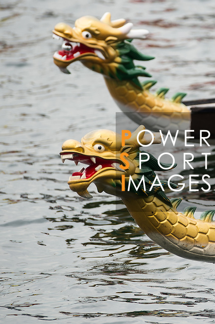 Athletes competes during the Hong Kong International Dragon Boat Races 2014 on June 7, 2014 in Hong Kong, China. Photo by Aitor Alcalde / Power Sport Images