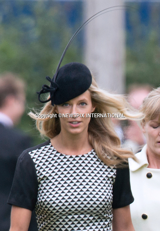 LADY LAURA  MARSHAM AND JAMES MEADE WEDDING - OLIVIA HUNT<br /> Another of Prince William's ex-flames who attended the wedding, while Kate stayed away.<br /> The wedding was held at Saint Nicholas Church, Gayton, Norfolk_14/09/2013<br /> Mandatory Credit Photo: &copy;Dias/NEWSPIX INTERNATIONAL<br /> <br /> **ALL FEES PAYABLE TO: &quot;NEWSPIX INTERNATIONAL&quot;**<br /> <br /> IMMEDIATE CONFIRMATION OF USAGE REQUIRED:<br /> Newspix International, 31 Chinnery Hill, Bishop's Stortford, ENGLAND CM23 3PS<br /> Tel:+441279 324672  ; Fax: +441279656877<br /> Mobile:  07775681153<br /> e-mail: info@newspixinternational.co.uk