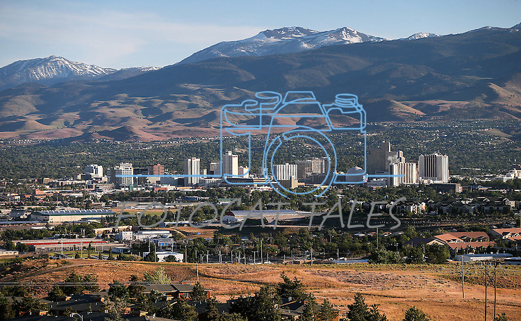 Reno, Nev. skyline, on Thursday, June 2, 2016. <br /> Photo by Cathleen Allison