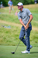 Lucas Glover (USA) watches his tee shot on 12 during Friday's round 2 of the 117th U.S. Open, at Erin Hills, Erin, Wisconsin. 6/16/2017.<br /> Picture: Golffile | Ken Murray<br /> <br /> <br /> All photo usage must carry mandatory copyright credit (&copy; Golffile | Ken Murray)