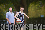 Talented Killarney teenager Jordan Lee (14) has been selected for the Irish U-15 schoolboys basketball squad here with Proud dad Jarlath