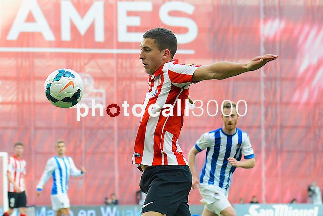 Football macht during La Liga BBVA.<br /> Athletic Club - Real Sociedad<br /> oskar de markos