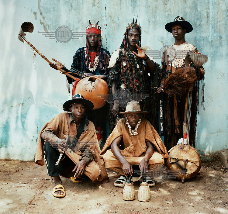 Malian hunter musicians. Dating back to the seventh century, the donsoton, or Brotherhood of Hunters, is a quasi-masonic fraternity found across west Africa. Their traditional music has had a major influence on modern African pop.