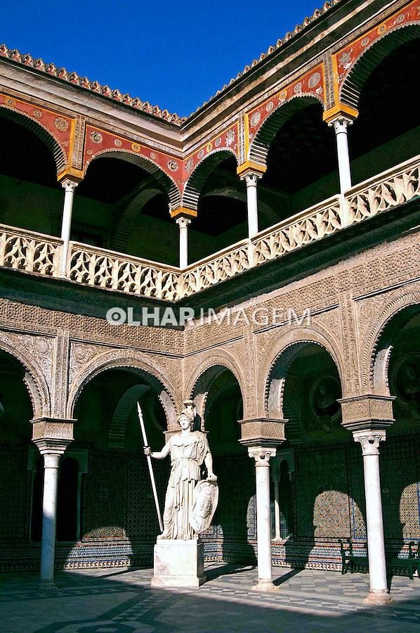 Casa de Pilatos, Palácio de San Andres em Sevilha. Espanha. 2005. Foto de Rogério Reis.