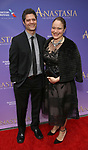 Tom Kitt and Rita Pietropinto  attends Broadway Opening Night performance of 'Anastasia' at the Broadhurst Theatre on April 24, 2017 in New York City.