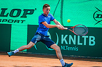 Hilversum, Netherlands, August 6, 2018, National Junior Championships, NJK, Colin  Standaart (NED)<br /> Photo: Tennisimages/Henk Koster