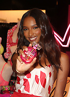 LOS ANGELES, CA - FEBRUARY 7: Jasmine Tookes, pictured as Victoria&rsquo;s Secret celebrates self-love this Valentine&rsquo;s Day at the Beverly Center Victoria&rsquo;s Secret Store Thursday, February 7, 2019 in Los Angeles, California.   <br /> CAP/MPI/SAD<br /> &copy;SAD/MPI/Capital Pictures
