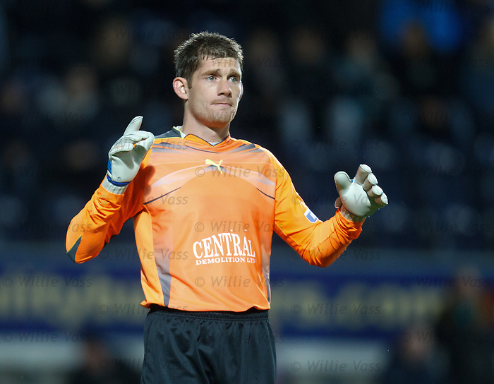 Falkirk keeper Michael McGovern