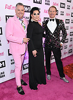 "13 May 2019 - Los Angeles, California - Ross Matthews, Michelle Visage, Carson Kressley. ""RuPaul's Drag Race"" Season 11 Finale held at the Orpheum Theatre. Photo Credit: Birdie Thompson/AdMedia"