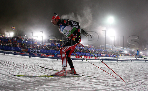 05.01.2011 Mens Biathlon World Cup from Oberhof Germany. Picture shows Alexander Wolf ger.