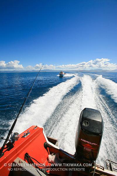 Sortie en mer, lagon de Nouvelle-Calédonie