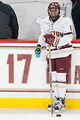 Kaliya Johnson (BC - 6) - The Boston College Eagles defeated the visiting Providence College Friars 7-1 on Friday, February 19, 2016, at Kelley Rink in Conte Forum in Boston, Massachusetts.