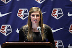 17 January 2014: Kassey Kallman was selected with the fifth overall pick by FC Kansas City. The 2014 National Women's Soccer League Draft was held at the NSCAA Annual Convention in the Pennsylvania Convention Center in Philadelphia, Pennsylvania.