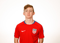 LAKEWOOD RANCH, FL : The U.S. U-18 Men's National Team portraits at Premiere Sports Complex in Lakewood Ranch, Fla., on January 4, 2018. (Photo by Casey Brooke Lawson)