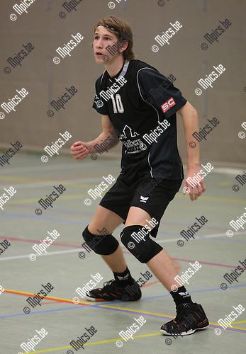 2007-11-10 / Volleybal / Oud-Turnhout / Sommen Glenn..Foto: Maarten Straetemans (SMB)