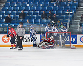 Sudbury, ON - April 23 2018 - Game 3 - Sudbury Nickel Capital Wolves vs Lethbridge Hurricanes during the 2018 TELUS Cup at the Sudbury Community Arena in Sudbury, Ontario, Canada (Photo: Matthew Murnaghan/Hockey Canada)