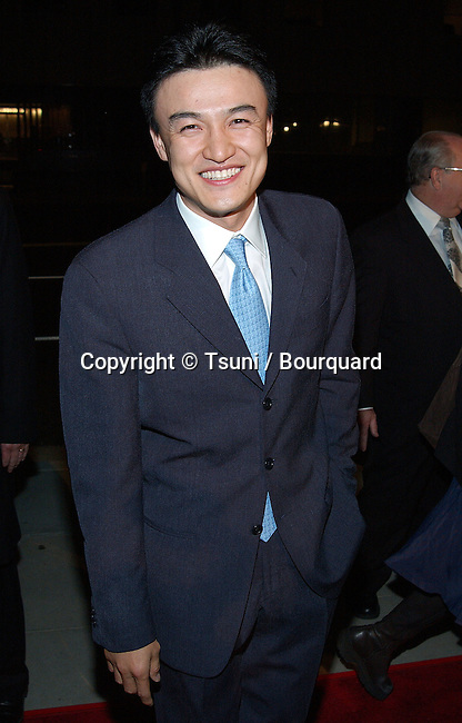 """Joong-Hoon Park arriving at """"The Truth About Charlie"""" premiere at the Academy of Motion Pictures in Los Angeles. October 16, 2002.           -            ParkJoog-Hoon12.jpg"""
