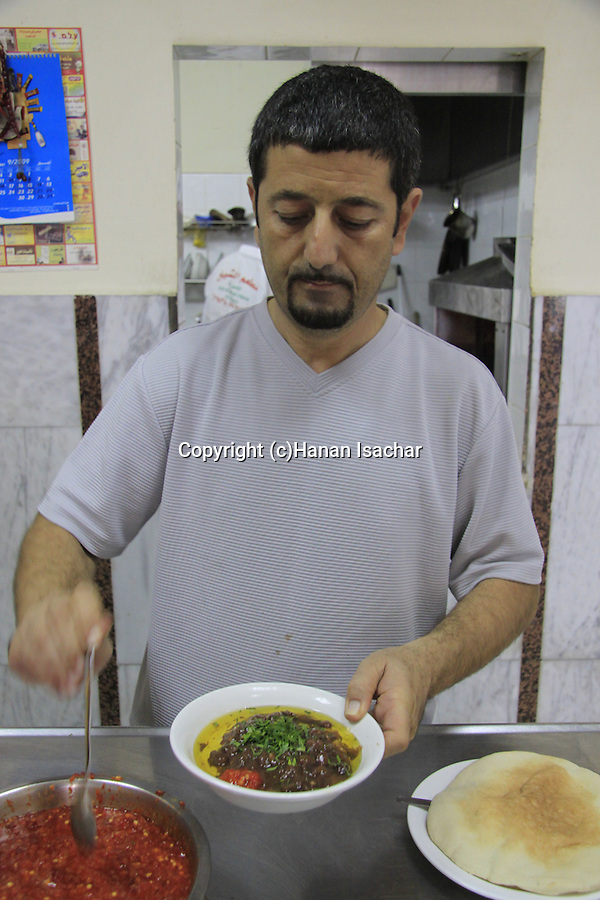Israel, Lower Galilee, Humus A Sheikh in Nazareth