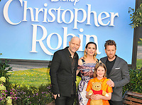 Marc Forster, Bronte Carmichael, Hayley Atwell, Ewan McGregor at the &quot;Christopher Robin&quot; European film premiere, BFI Southbank, Belvedere Road, London, England, UK, on Sunday 05 August 2018.<br /> CAP/CAN<br /> &copy;CAN/Capital Pictures