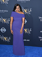 Mindy Kaling at the premiere for &quot;A Wrinkle in Time&quot; at the El Capitan Theatre, Los Angeles, USA 26 Feb. 2018<br /> Picture: Paul Smith/Featureflash/SilverHub 0208 004 5359 sales@silverhubmedia.com