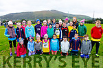 Members of the Iveragh Athletics Club at the County Championships in Cahersiveen On Sunday.