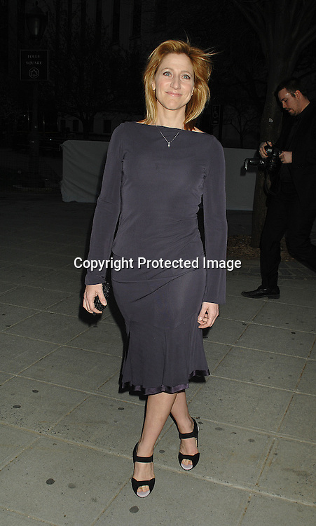 Edie Falco..arriving at The Vanity Fair Party to celebrate the 6th Annual ..Tribeca Film Festival on April 24, 2007 at The State Supreme Courthouse. ..Robin Platzer, Twin Images