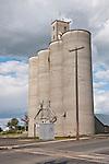 Concrete grain elevator, Harrington, Wash.