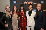 Amy Quanbeck, Tory Trowbridge, Dee Roscioli, Michael Tacconi , and Ryan Worsing Attends the After Party for the Broadway Opening Night  of 'The Cher Show' at Pier 60 on December 3, 2018 in New York City.