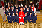 Sixth class students from caherleaheen NS were confirmed by Bishop Ray Browne at St. John's Church Tralee on Thursda