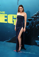 6 August 2018-  Hollywood, California - Jessica McNamee. Warner Bros. Pictures And Gravity Pictures' Premiere Of &quot;The Meg&quot; held at TCL Chinese Theatre IMAX. <br /> CAP/ADM/FS<br /> &copy;FS/ADM/Capital Pictures
