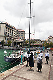 MAURITIUS, the waterfront in the business district, the capital city of Port Louis
