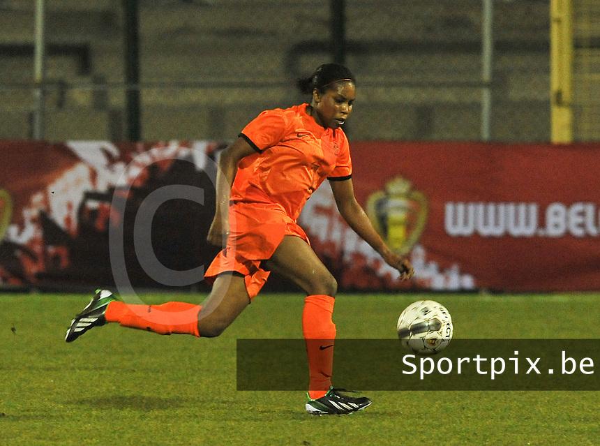 U17  Netherlands - U17 Germany :  Lineth Beerensteyn.foto DAVID CATRY / Vrouwenteam.be