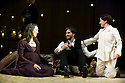 The Winter's Tale by William Shakespeare, The Bridge Project Production directed by Sam Mendes.With Rebecca Hall as Hermione,Josh Hamilton as Polixenes,Morven Christie as Mamillius.Opens at The Old Vic  Theatre on 9/6/09.  Credit Geraint Lewis